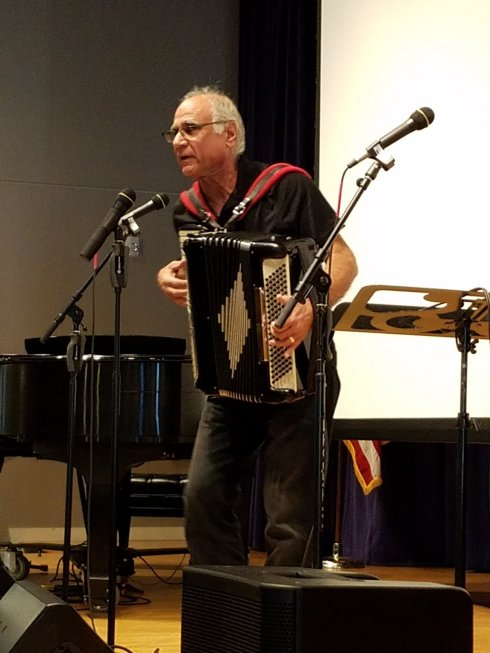 Mike Frankel Accordian Man